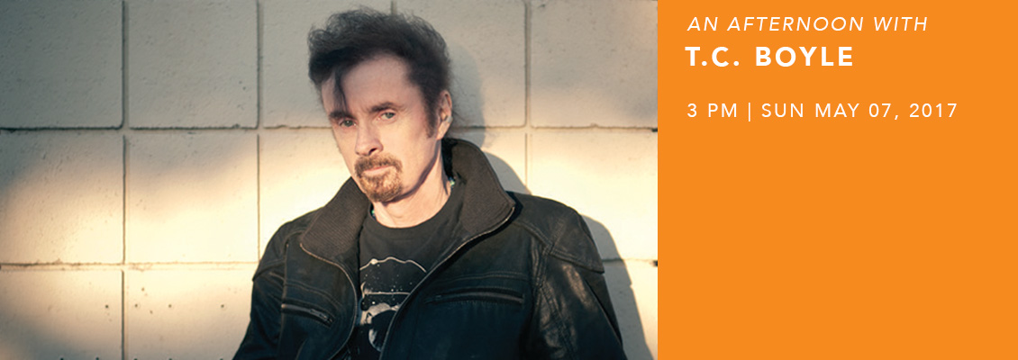 An Afternoon with T.C. Boyle