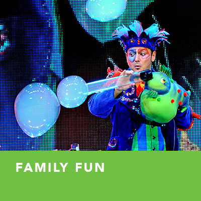 Family Fun: Underwater Bubble Show